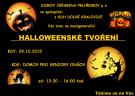 Halloweenské tvoření seniorů s dětmi z SDH Dolní Kralovice 1